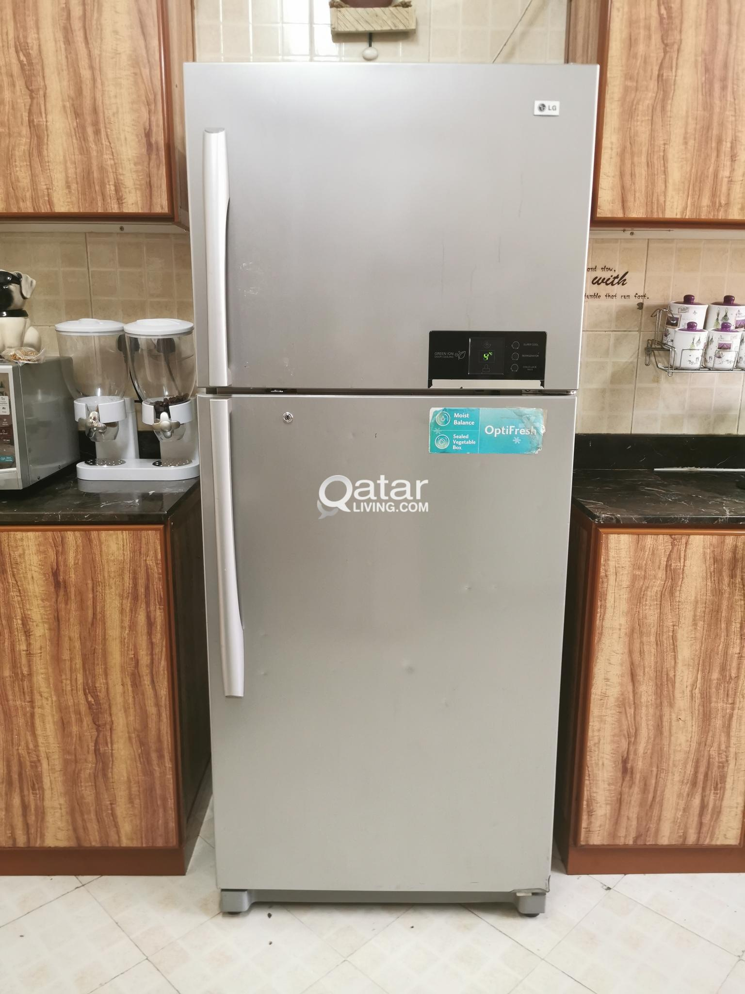 LG Fride 450 Liter Capacity-2 Door Top Mount Fridge-Freezer