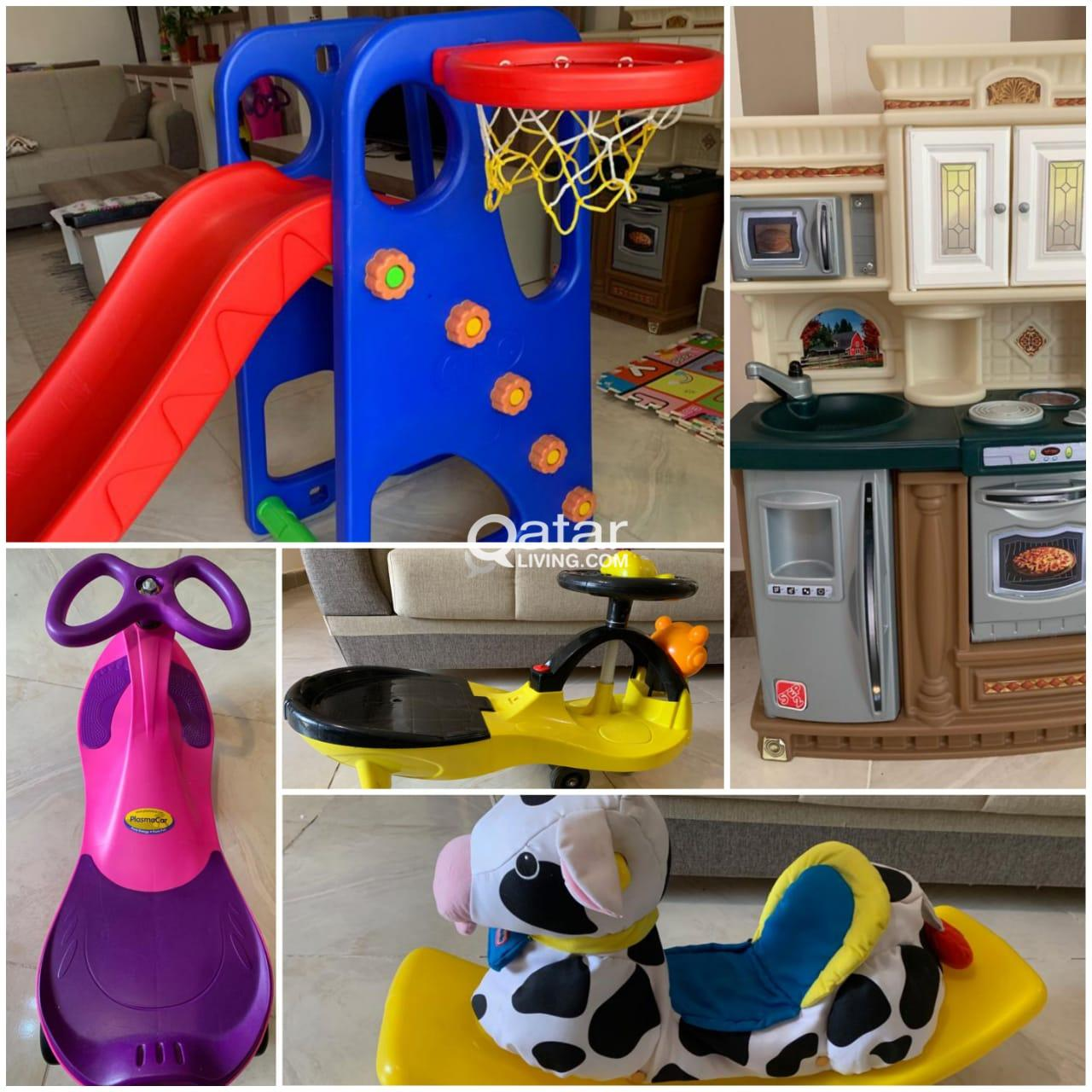 Slide Step 2 Kitchen Cars And Little Tikes Rocking Cow For