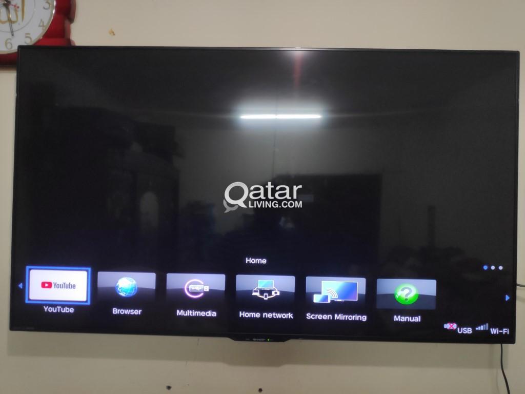 Sharp Aquos UA6500 Smart TV 4K 60 inch | Qatar Living