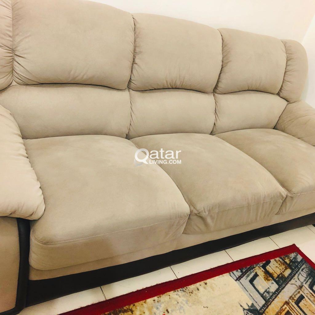 PAN EMIRATES 3 SEATER SOFA ONLY FEW DAYS USE