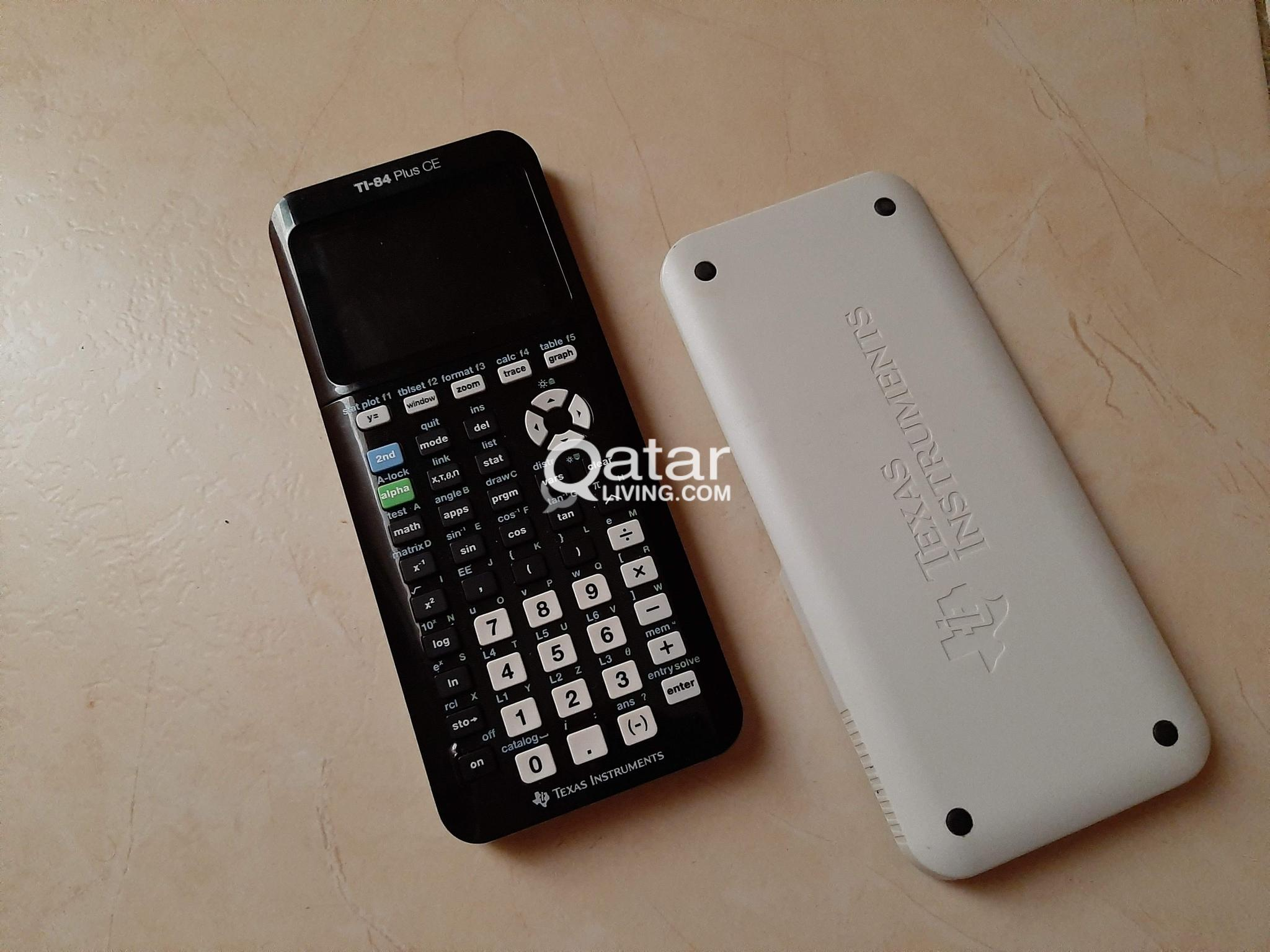 TI-84 Plus CE graphical calculator | Qatar Living