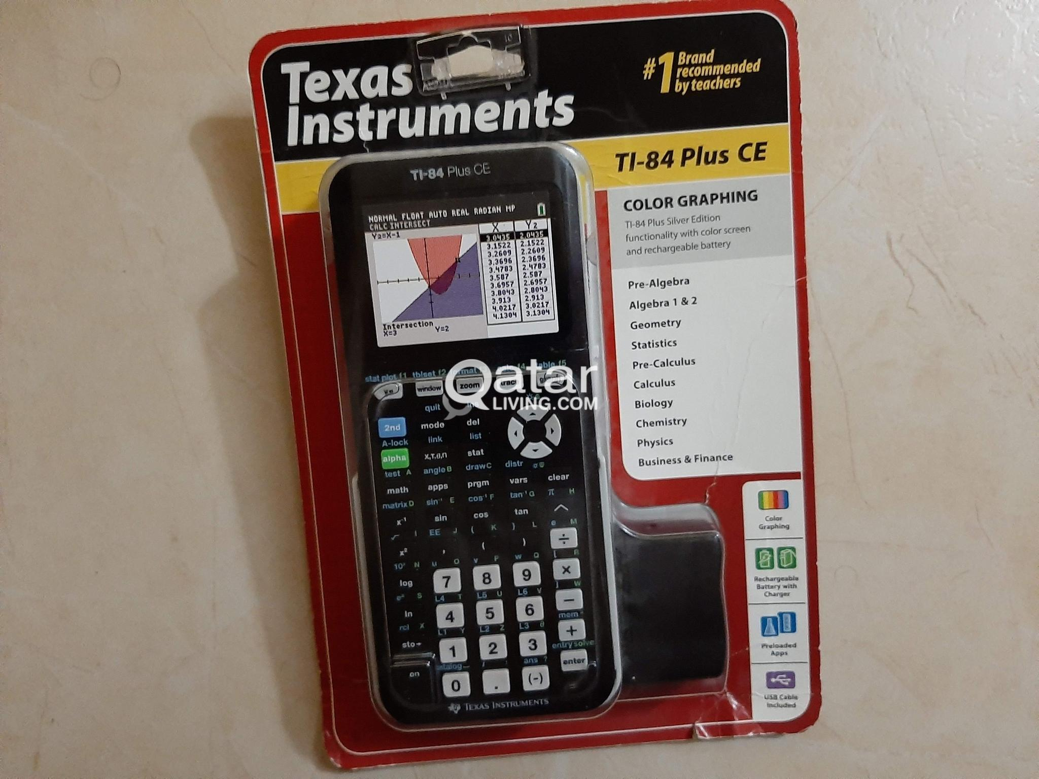TI-84 Plus CE graphical calculator | Qatar Living