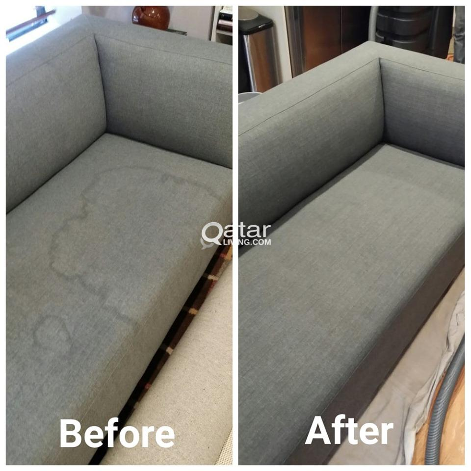 DEEP CLEANING FOR SOFAS AND CARPETS @ YOUR HOME! 3