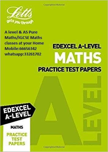 AS-A level Pure Math_Statistics_Mechanics_ IGCSE_