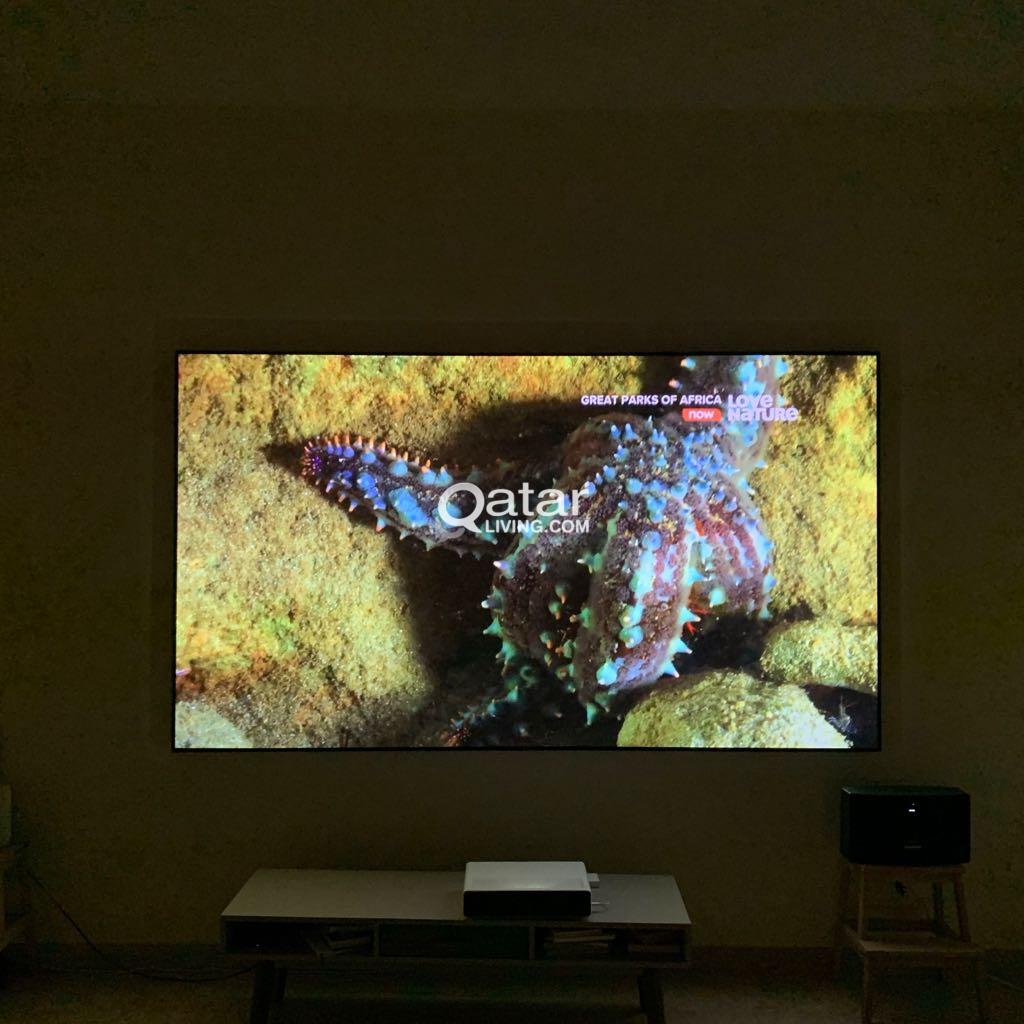 Ultra short projector 4K.