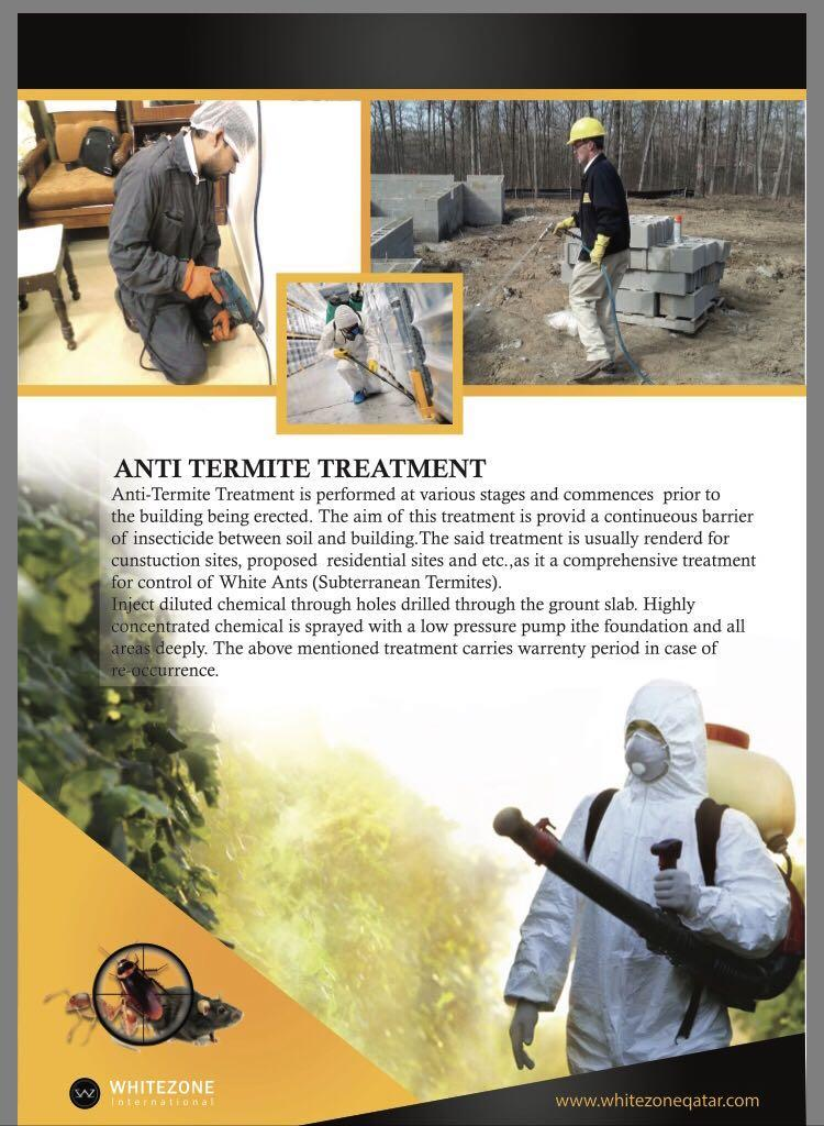 Disinfection and pest control services call 664703