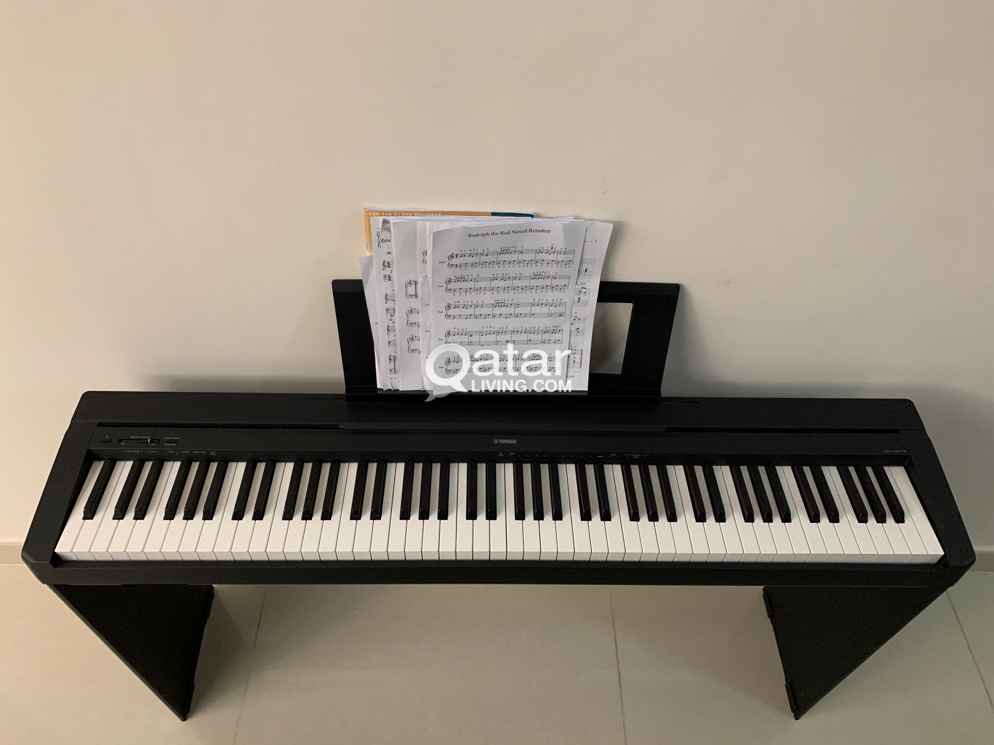 Yamaha P45 digital piano  and stand