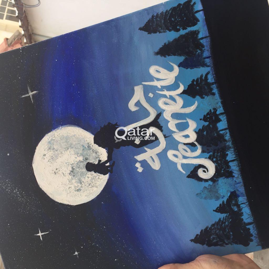 customised calligraphy art