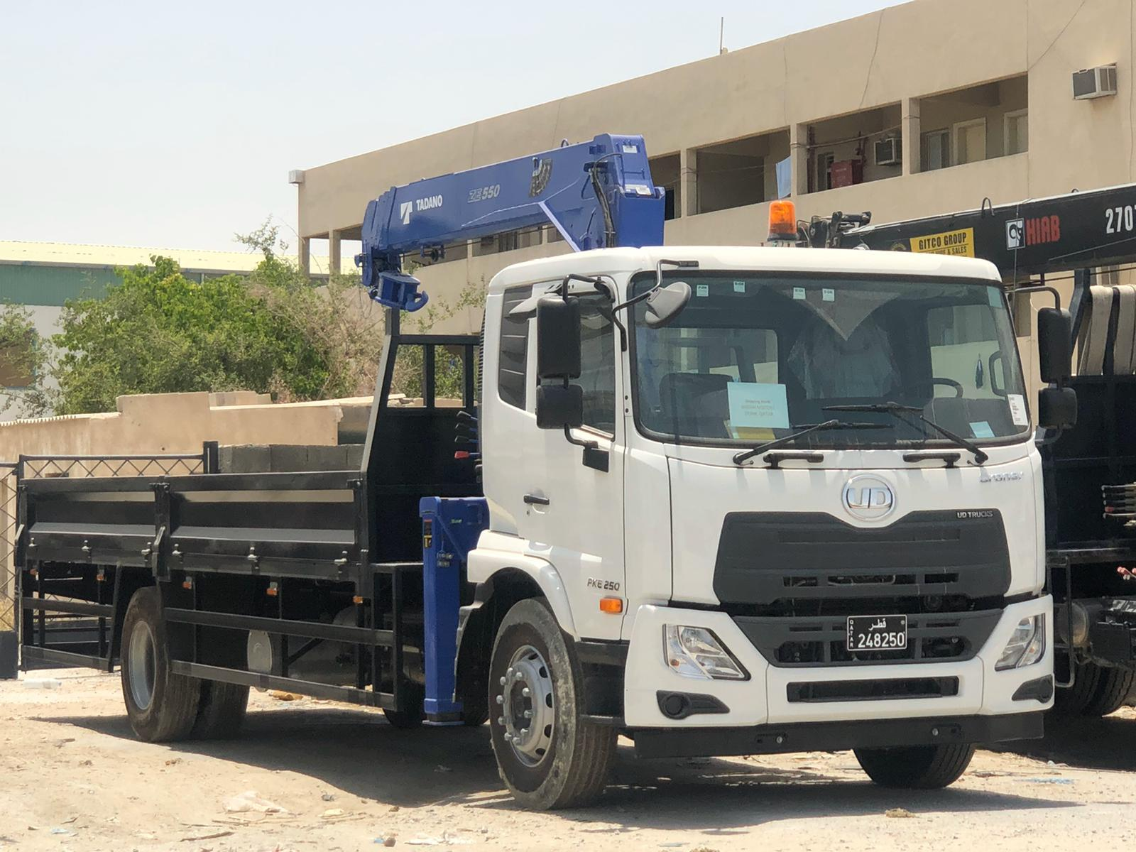5 ton Boom Truck for Rent