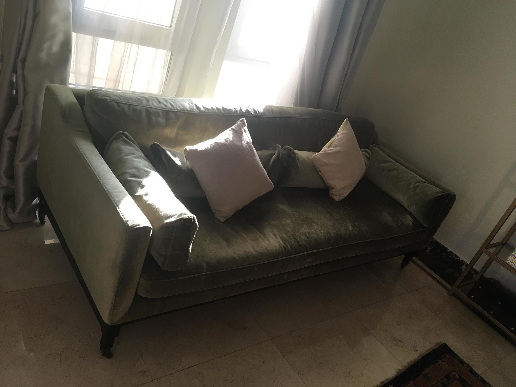 Velvet Sofa from The One