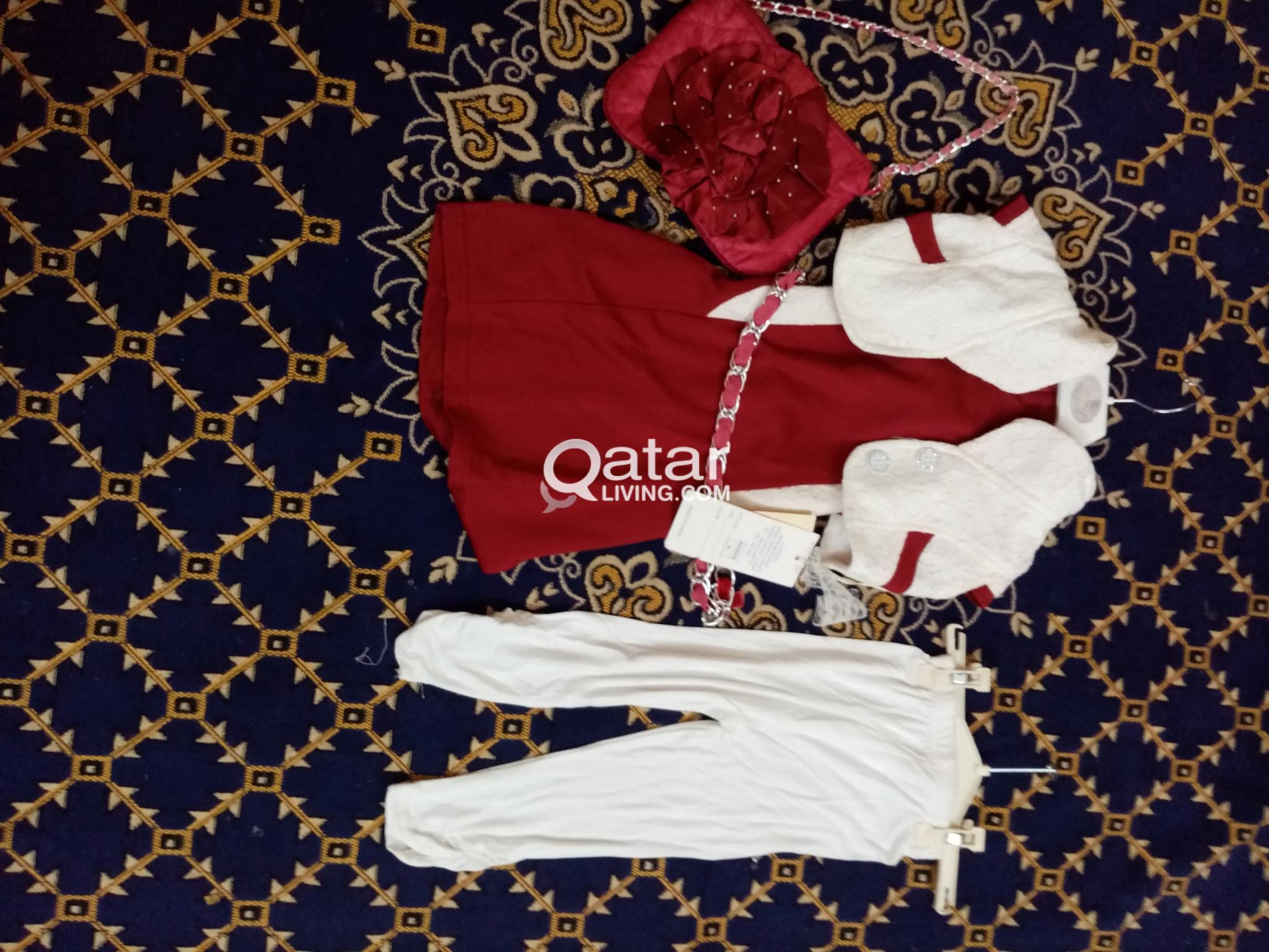 National Day Special Girls  dress 3-5 years (4pcs