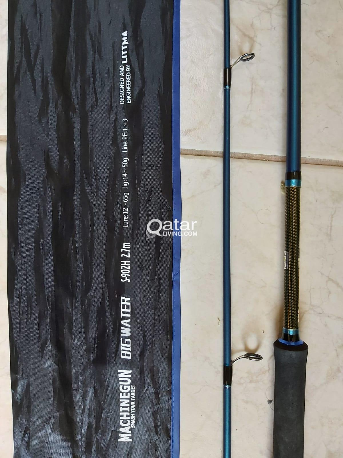 Fishing Rod 9 Feet, Fuji Guides