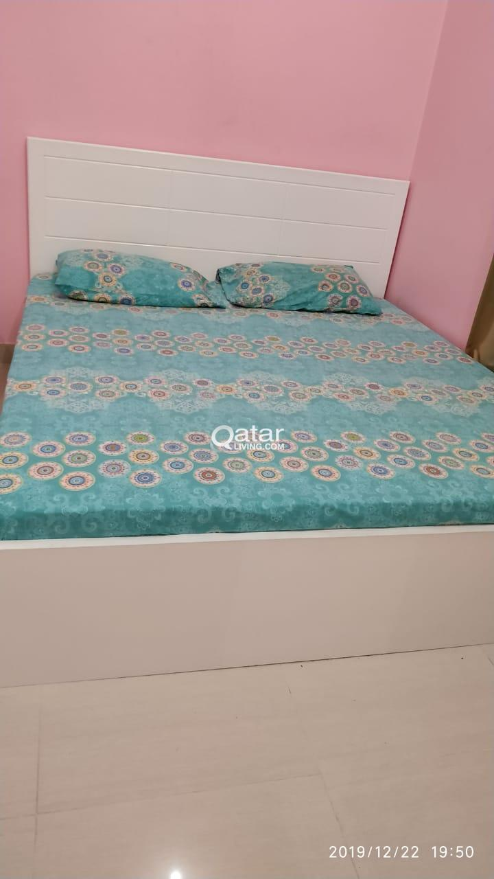 4 Door Cupboard and Bed and Medical Mattress
