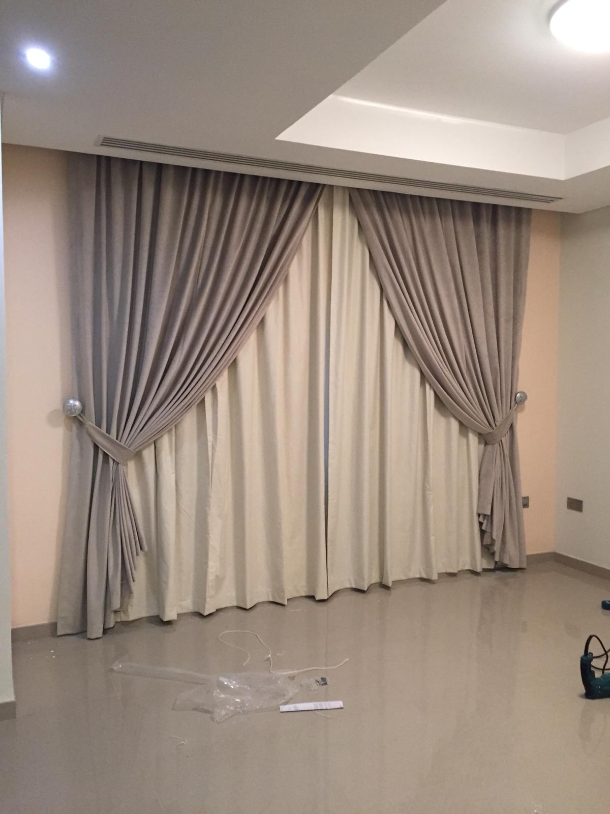 All Curtains,,, Wallpaper ,,, P.V.C for floor,,,,