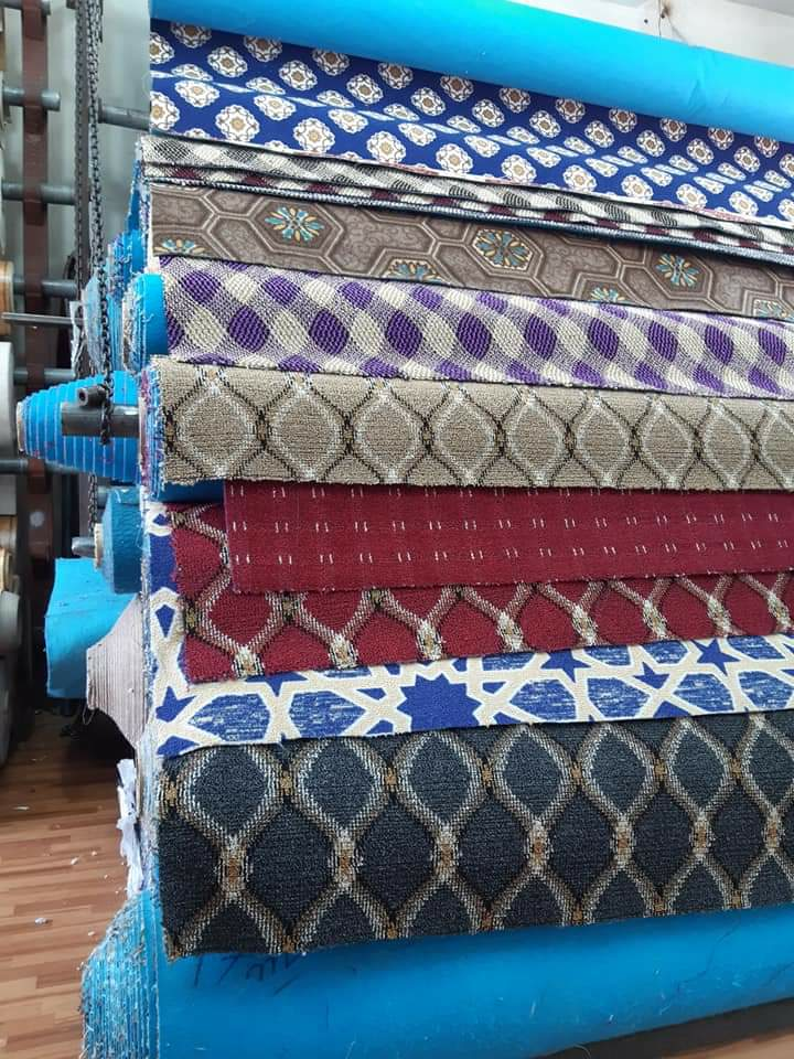 All kinds of Carpets available, Grass, Plastic, Wo