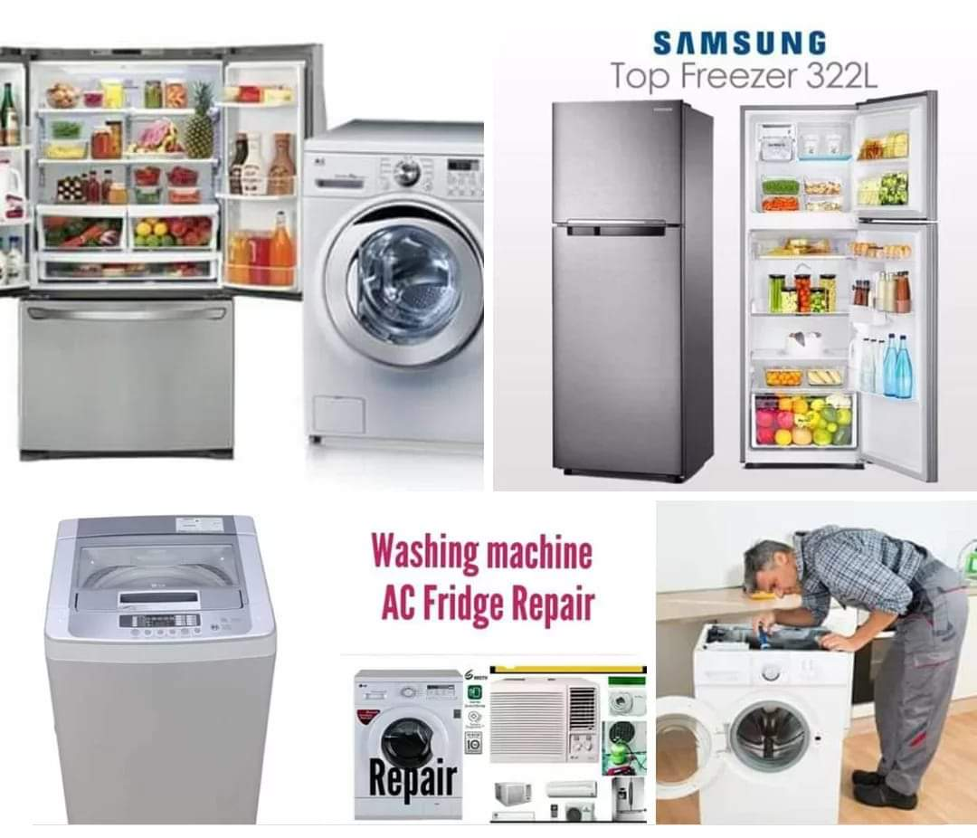 AC FRIDGE WASHING MACHINE SERVICE REPAIR.50107645
