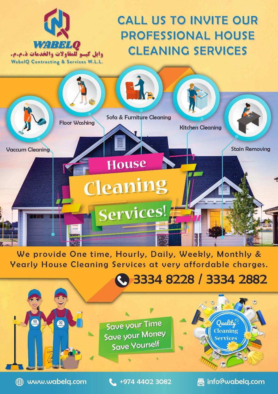 CLEANING SERVICES COMPANY (CAR & HOUSE CLEANING &