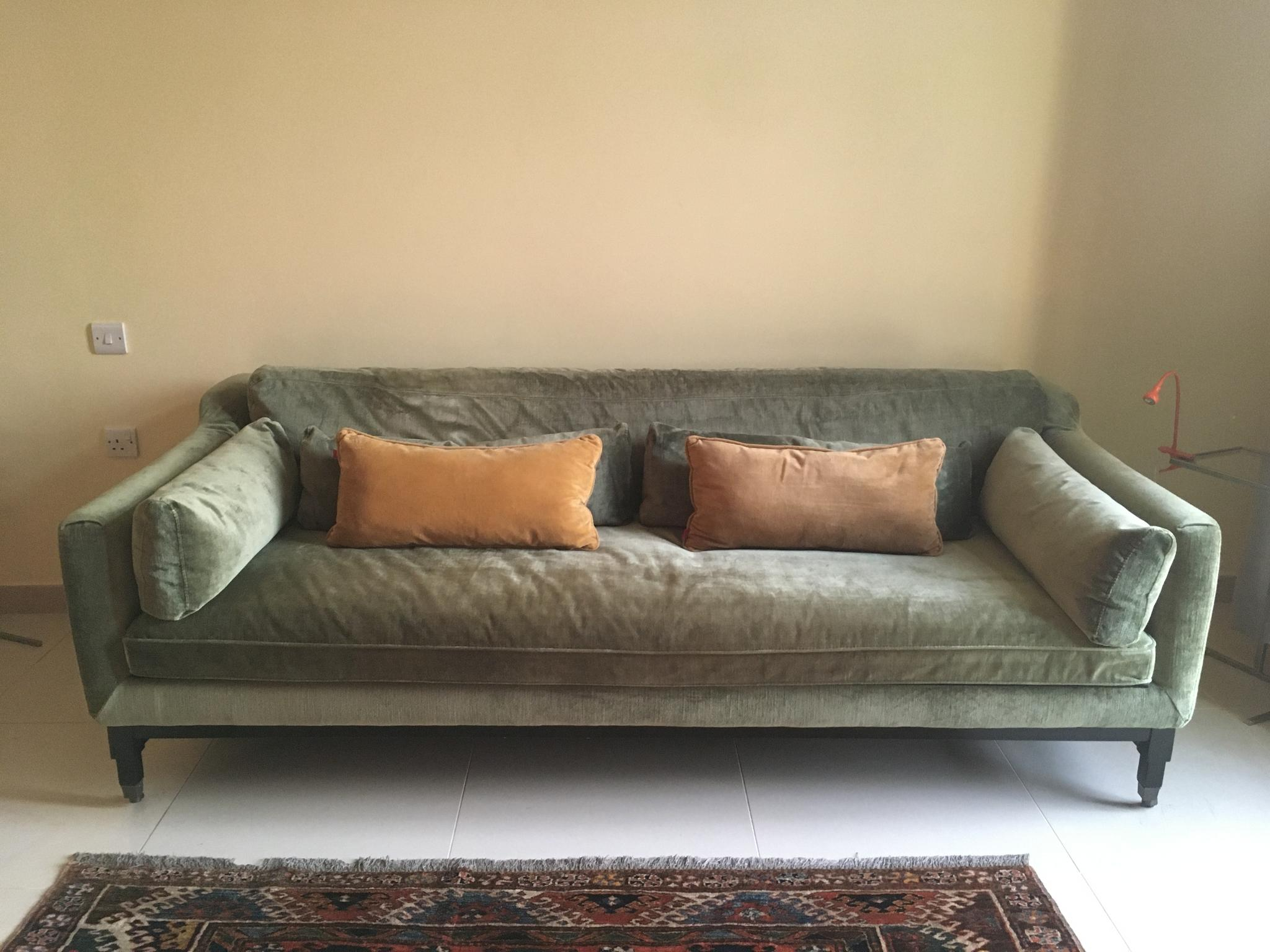 Velvet Sofa from The One