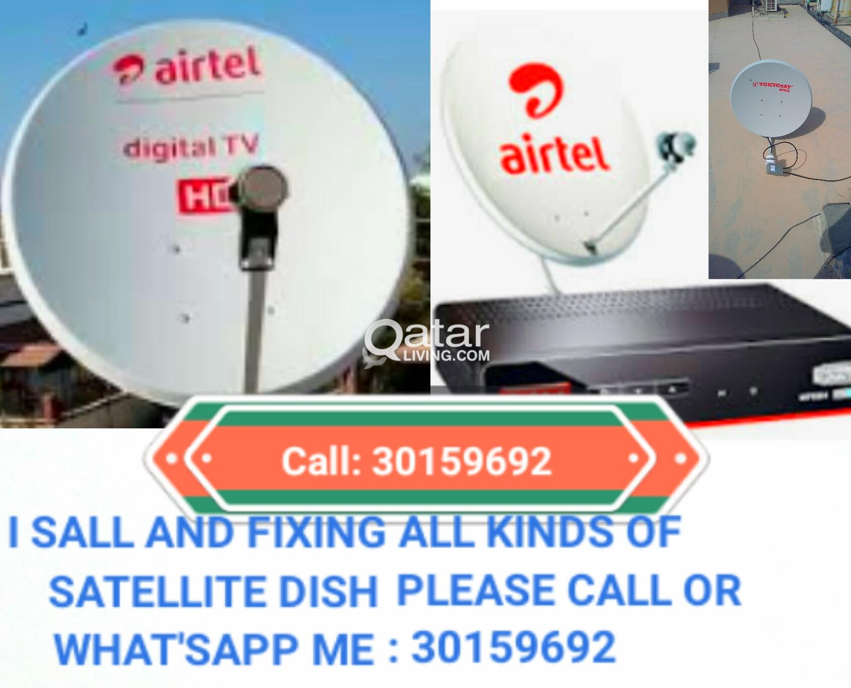 i do all kinds of satellite dish Tv work 33191271