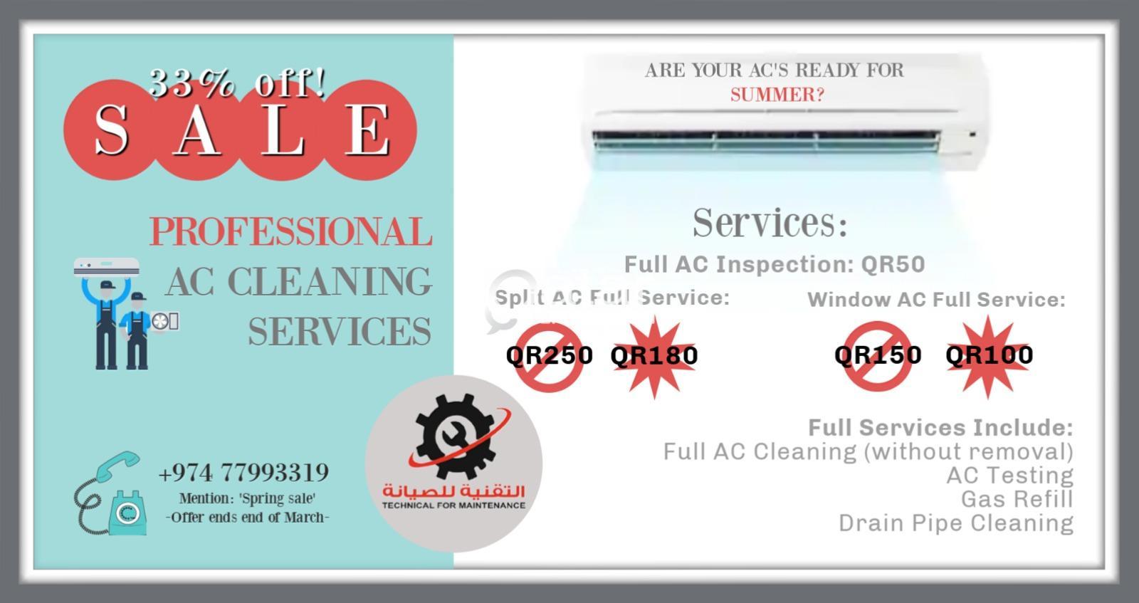 AC Servicing Spring Offer