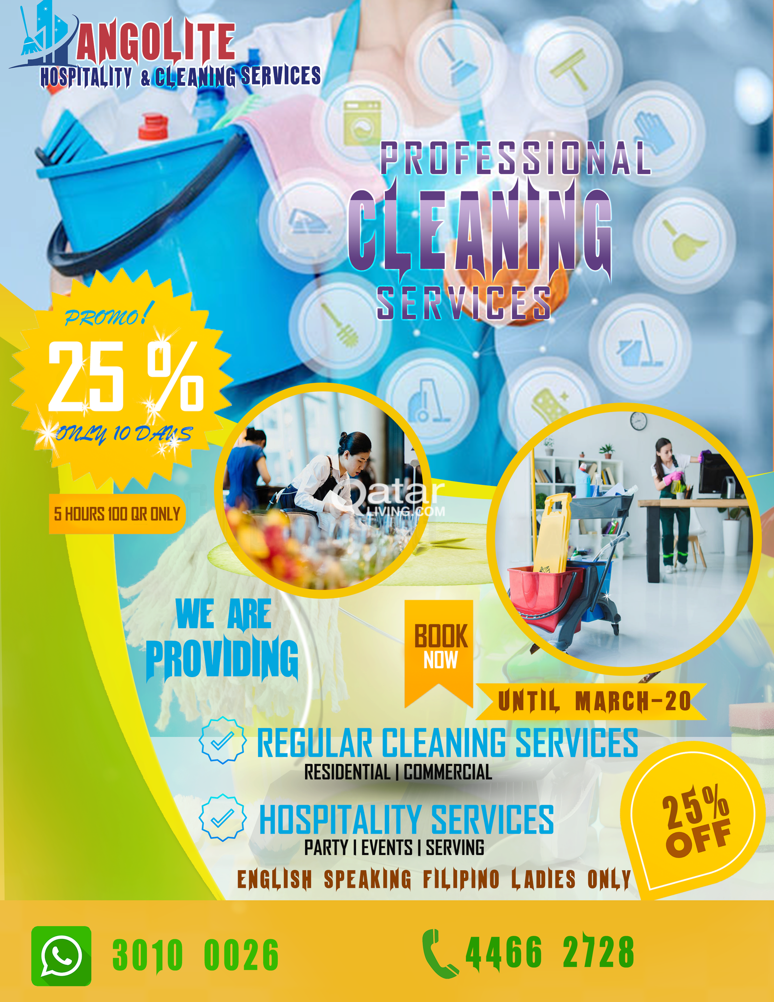 Professional Cleaning & Hospitality Services - Cal