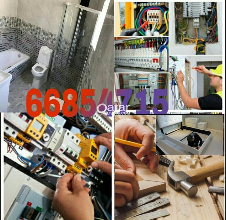 ELECTRIC, PLUMBING & CARPENTER MAINTENANCE SERVICE