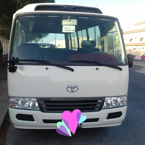 coaster Bus For Rent