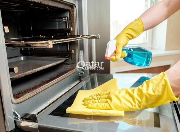 Oven Cleaning and Stove Deep Cleaning (STEAM)