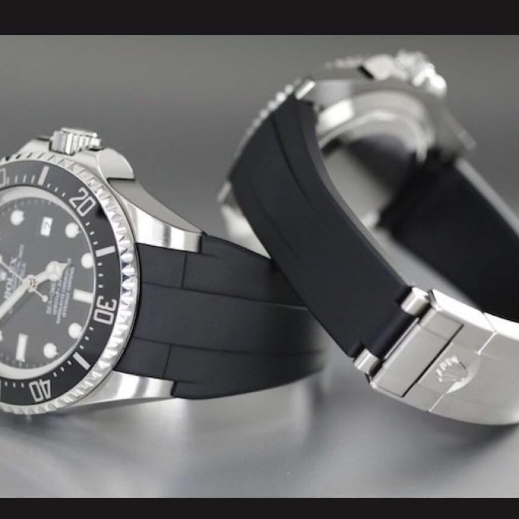 Rolex Rubber B Strap For Ceramic Submariner Watch