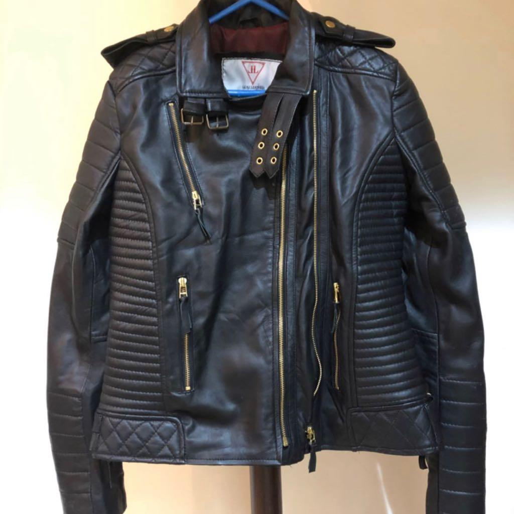 Brand new Ladies Genuine Leather Jacket 2xl