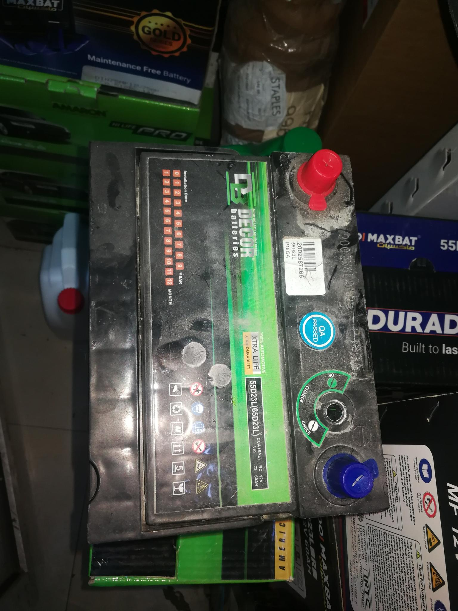 Replace battery any where in Qatar . Contact 77056