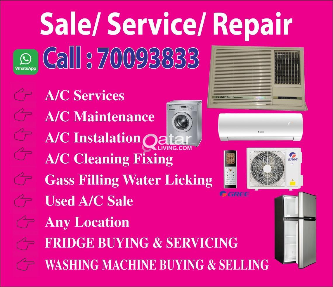 We do  Ac & Fridge Repair /maintenance/not working