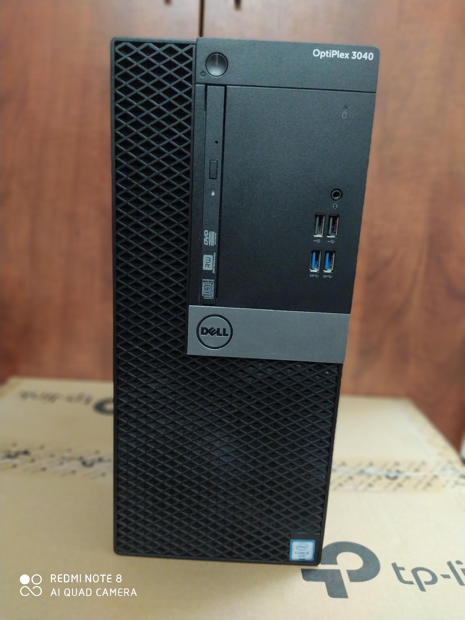DELL desktop optiplex 3040,core i5 vpro 6 generat