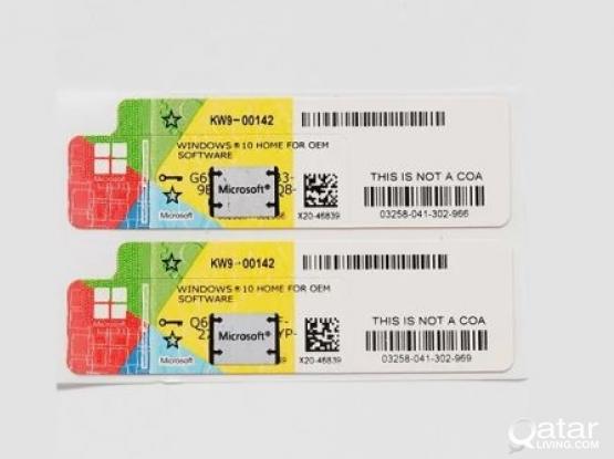Windows 10 pro key original sticker