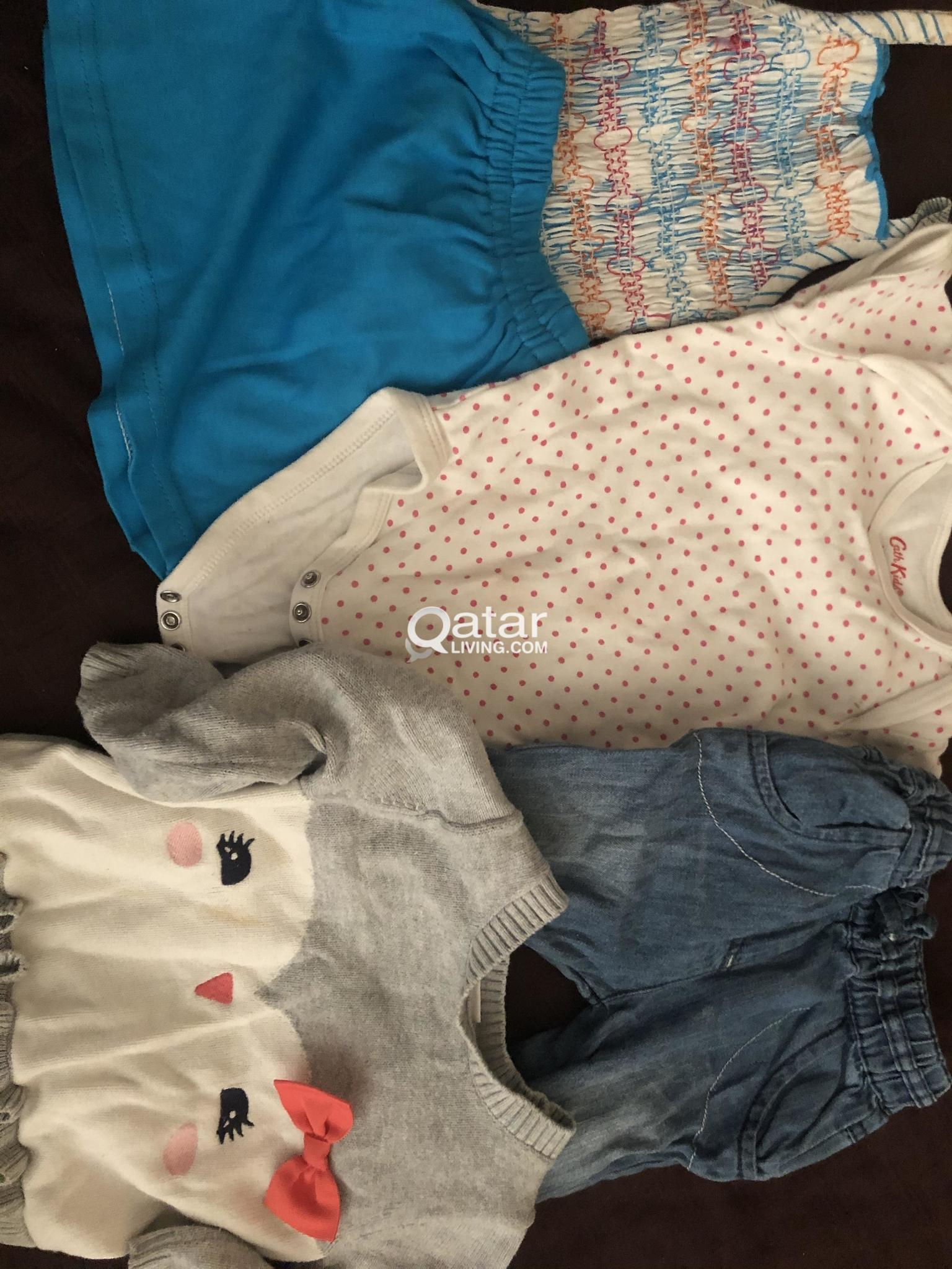 Pre loved baby girl dresses for free
