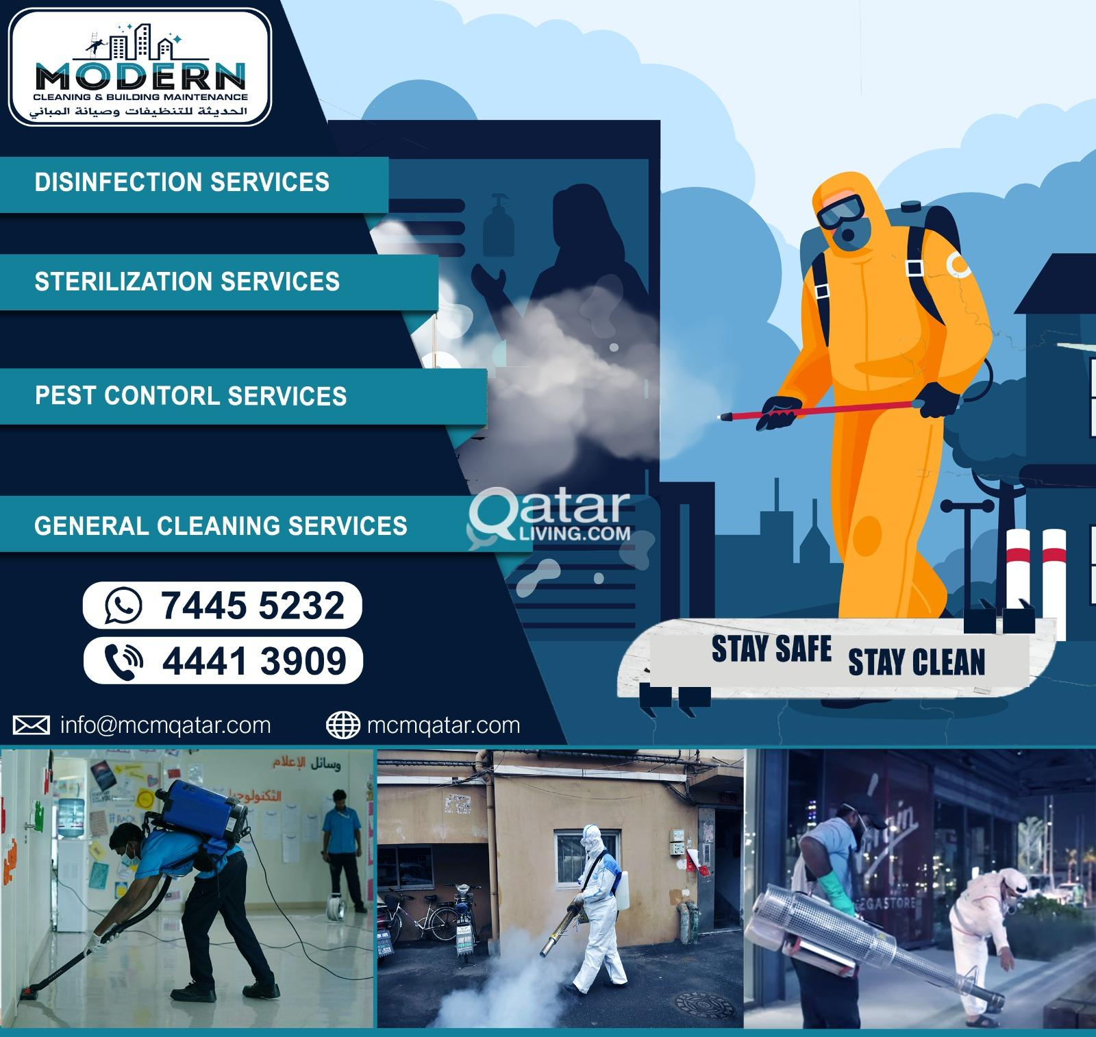 DISINFECTION & GENERAL CLEANING SERVICES