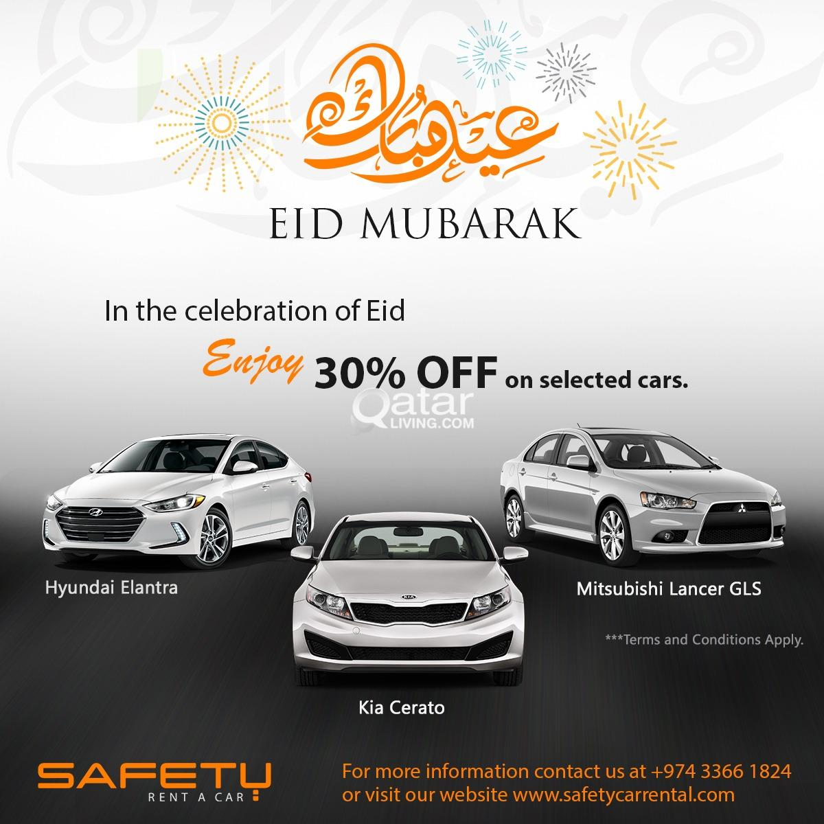 Get 30% off in celebration of Eid al-Fitr from Saf