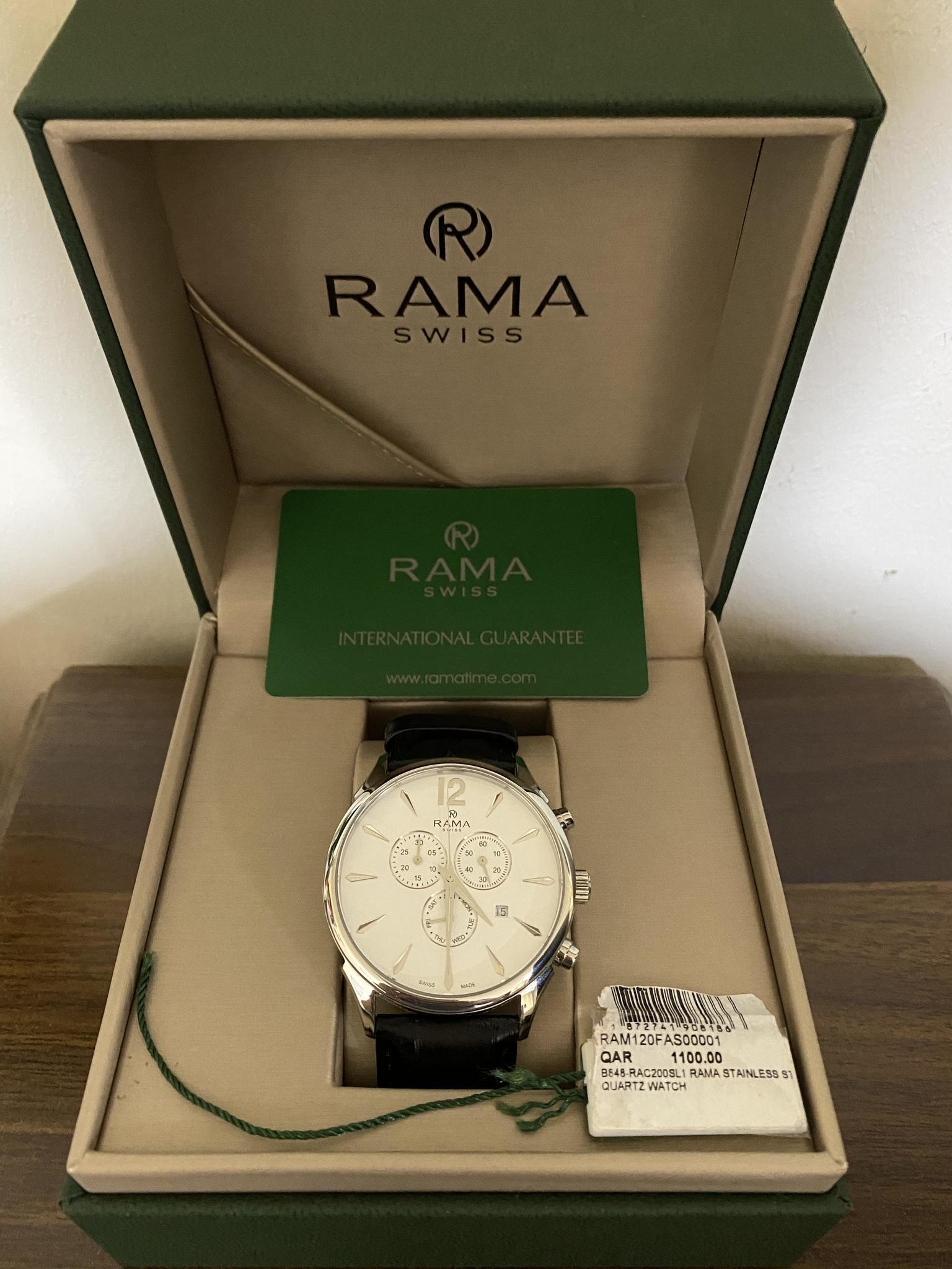 RAMA ORIGINAL SWISS MADE
