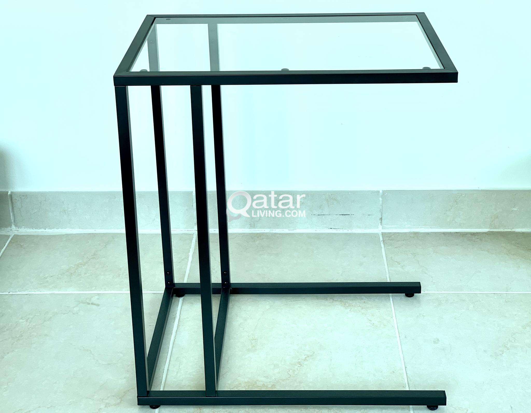 Picture of: Small Glass Top Side Table Qatar Living