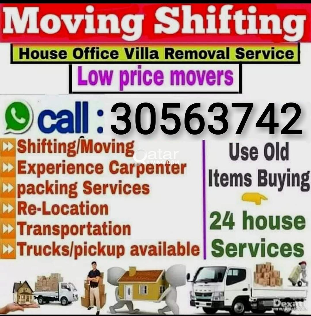 Low price. Shifting & Moving. Carpentry also 30563