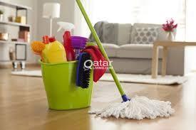 Cleaning service company Doha Qatar