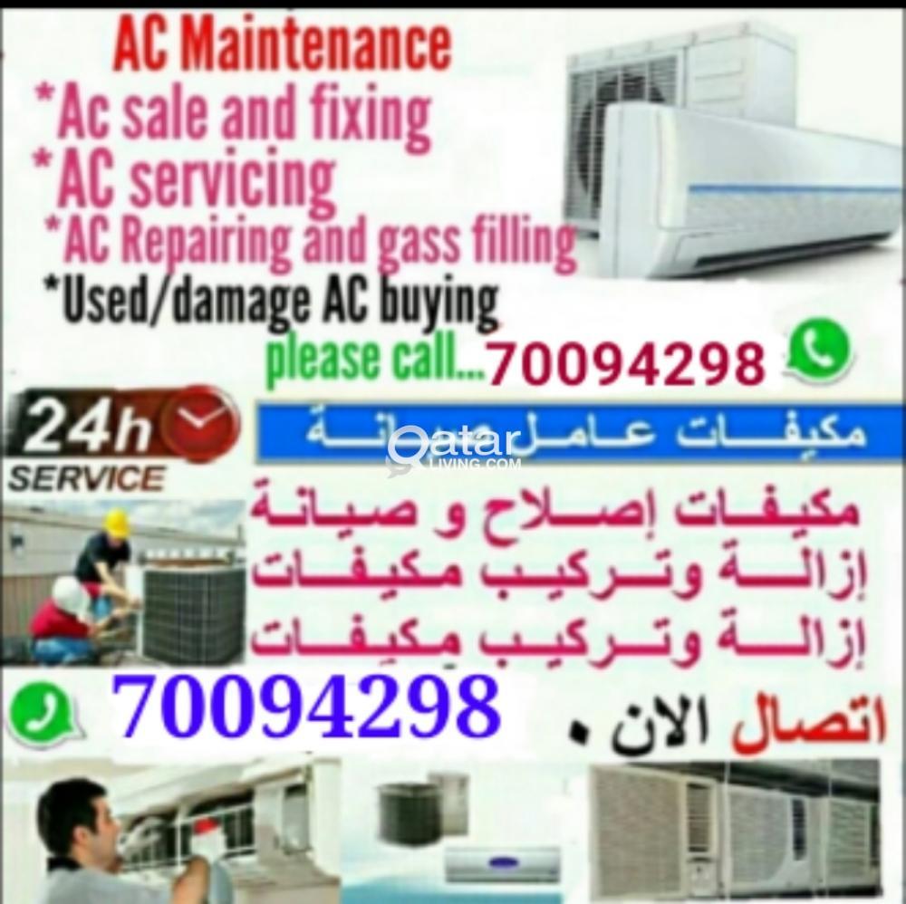 Ac intallation, servicing, repairing, maintenance.