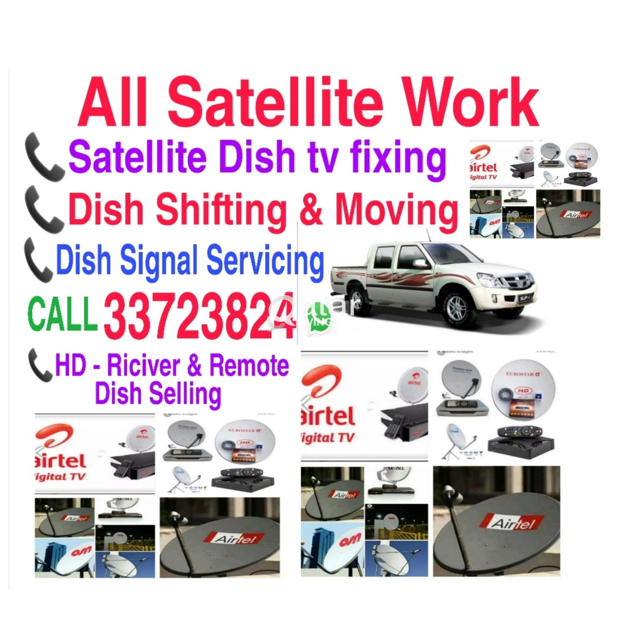 We do Any Satellite Dish Installation,tv fixing an