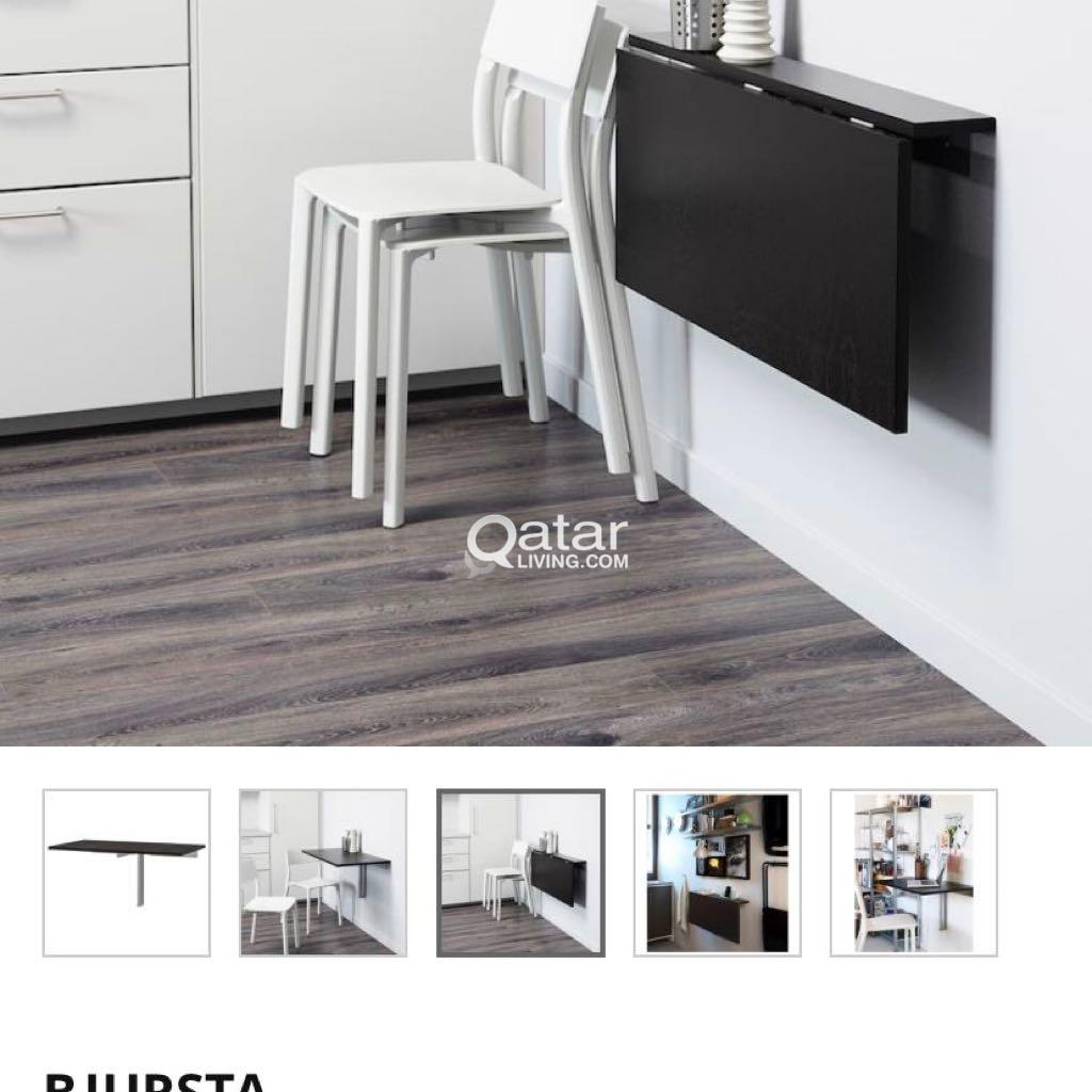 Ikea Guest Bed 100qr , Ikea Wall Mounted Table 100