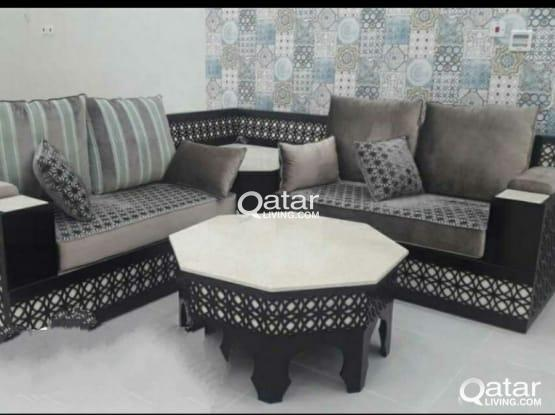 We are doing all type sofa/Carpet sell/curtain mak