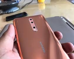 Nokia 8 brown color