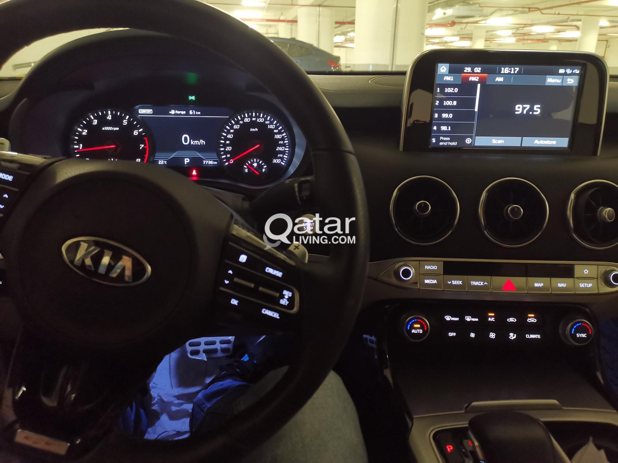 Kia Stinger GT like new