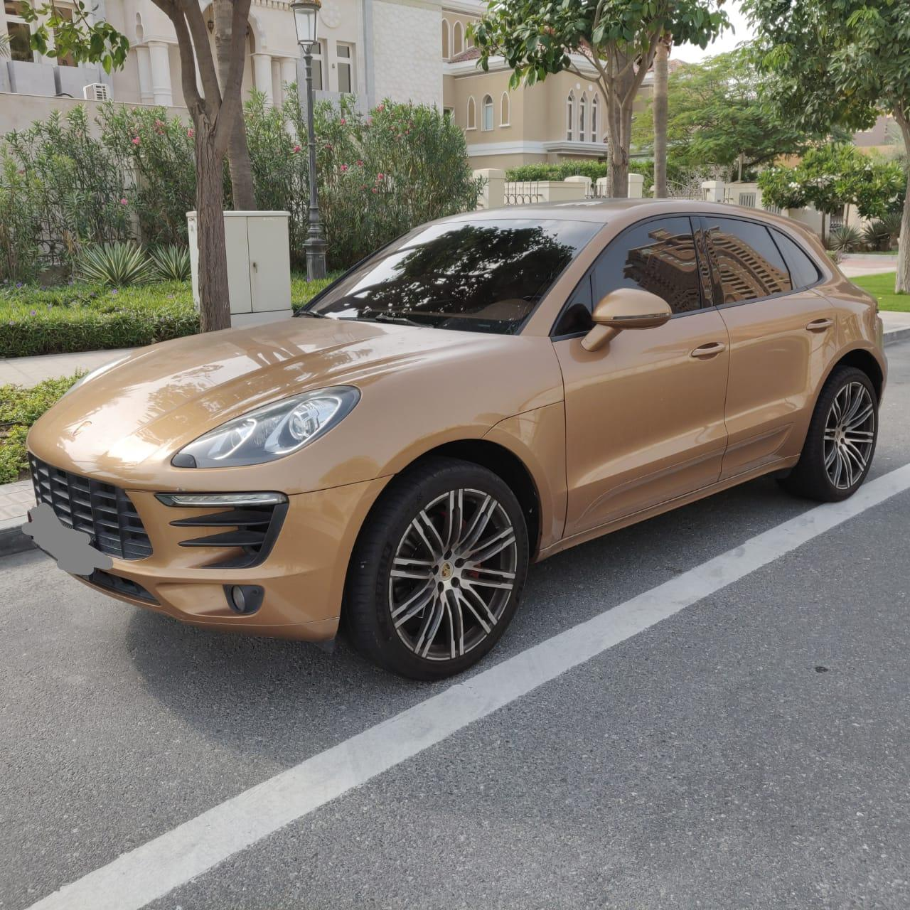 Macan S on official warranty