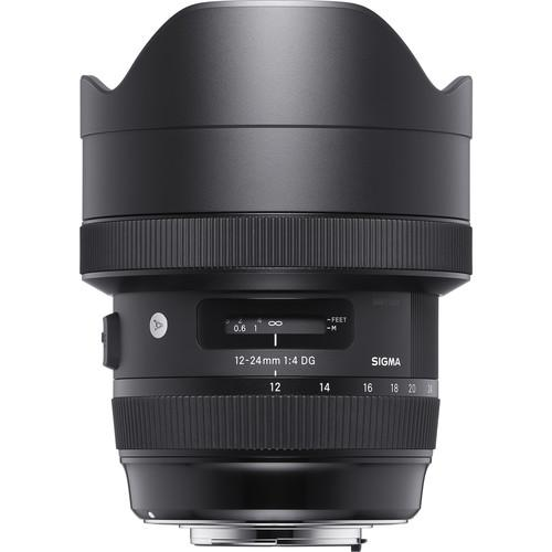 Sigma 12-24 F4 art Nikon mount
