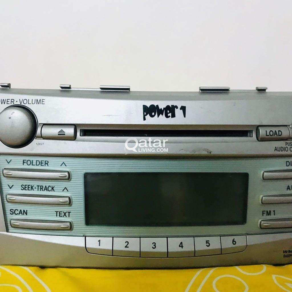 TOYOTA CAMRY 6 CD CHANGER